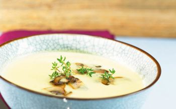 Wirz-Curry-Suppe mit Champignons