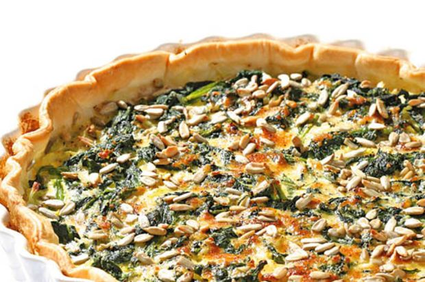 Kabis-Spinat-Quiche
