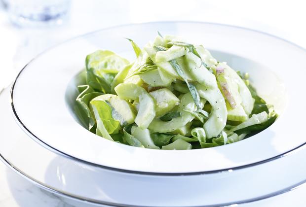 apfel gurken salat mit estragon annemarie wildeisen 39 s kochen. Black Bedroom Furniture Sets. Home Design Ideas