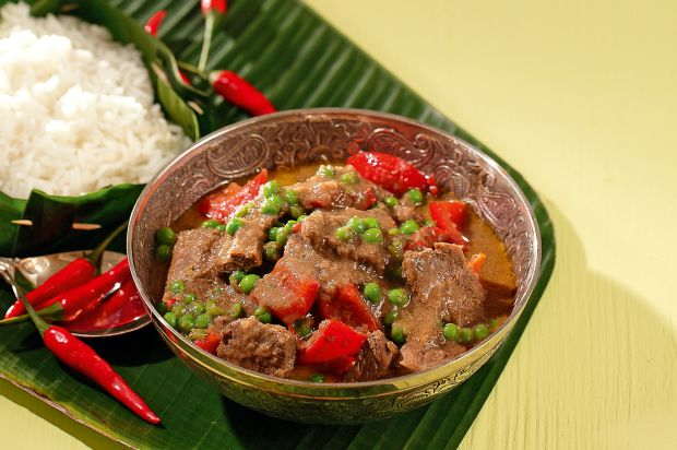 Indisches Rindfleisch-Curry