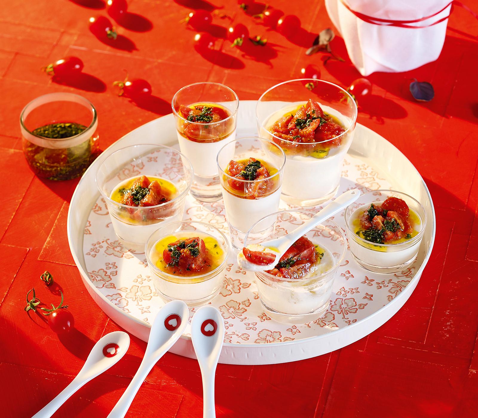 weisse tomaten mousse im glas annemarie wildeisen 39 s kochen. Black Bedroom Furniture Sets. Home Design Ideas