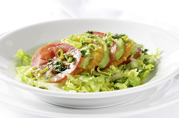 Avocado-Mandarinen-Salat