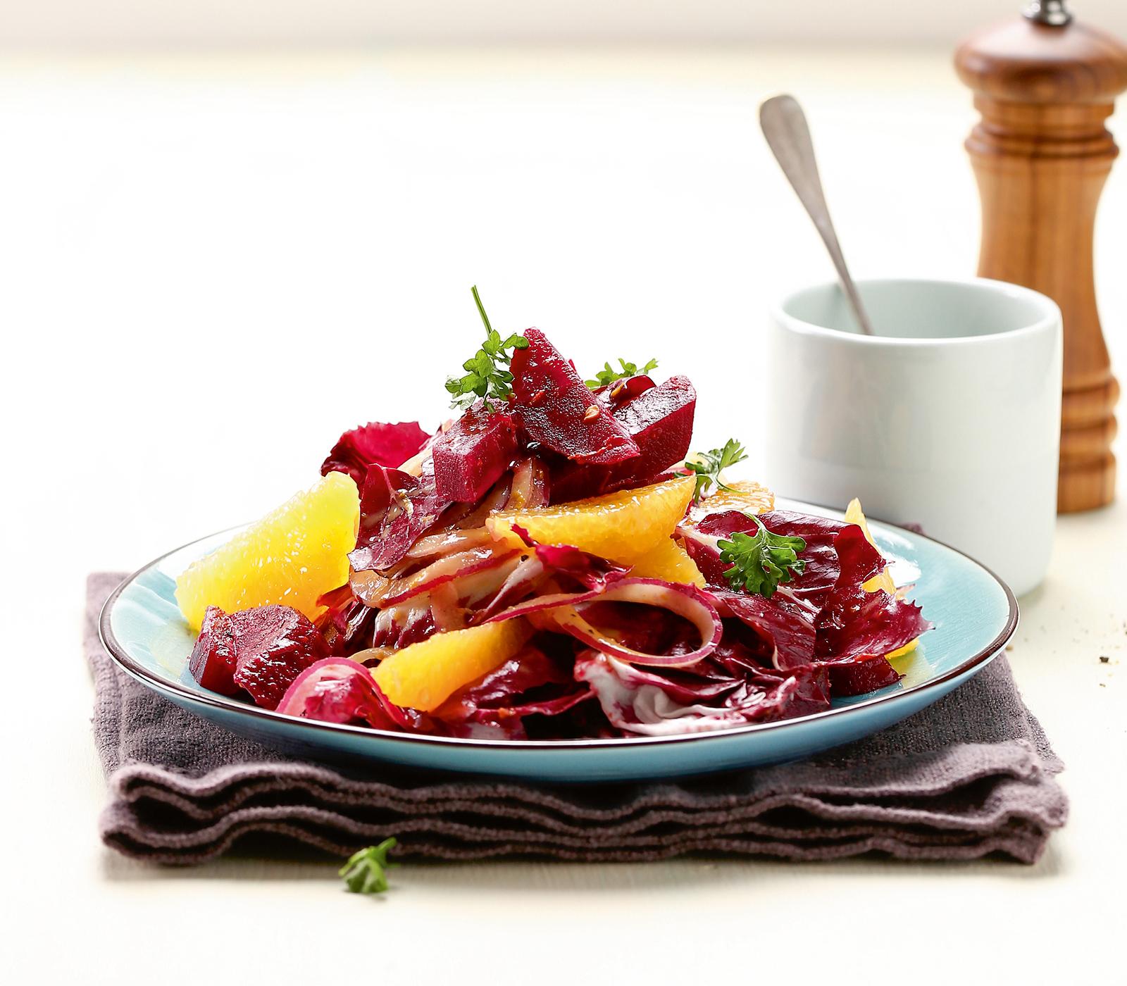 Randen-Orangen-Salat - Annemarie Wildeisen's KOCHEN