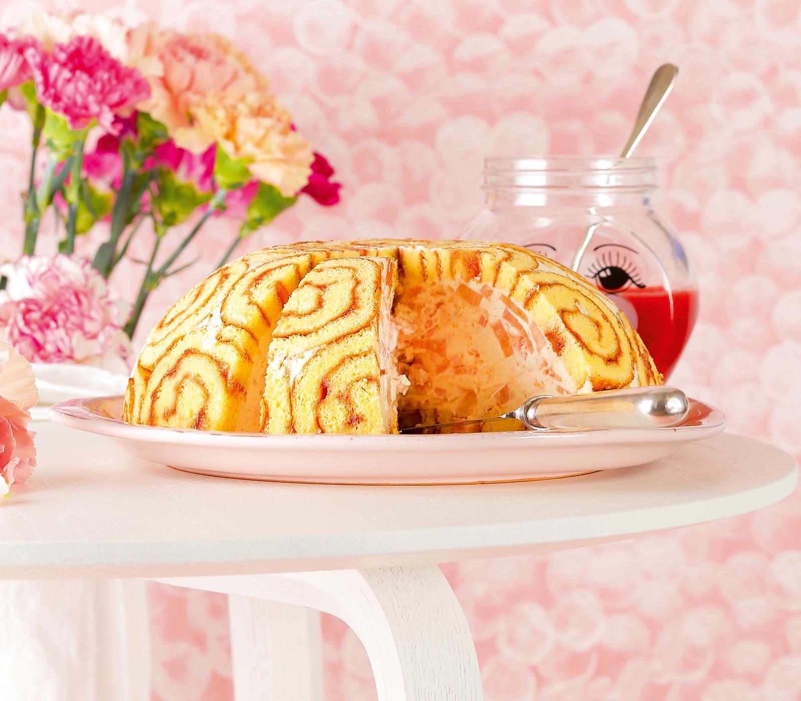 Rhabarber charlotte mit orange annemarie wildeisen 39 s kochen for Kochen rhabarber