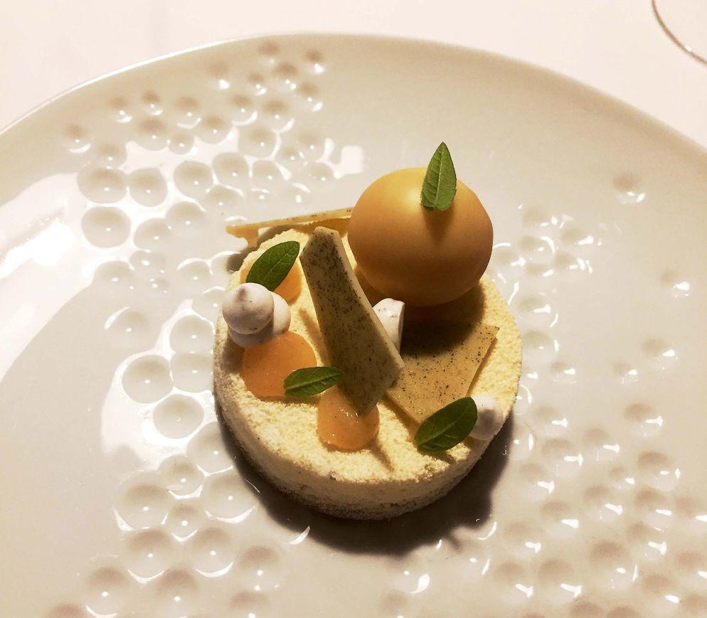 Dessertkreation mit Physalis beim «Steirawirt».
