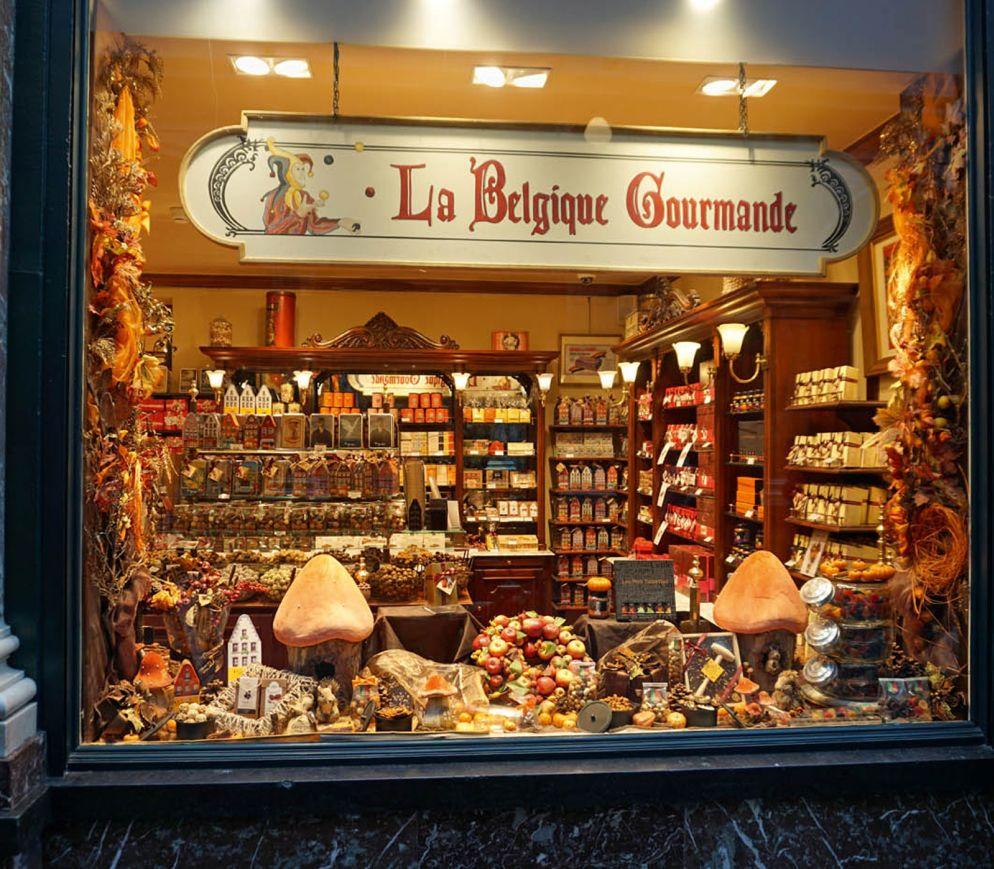 In In den Galéries Royales St-Hubert locken zahlreiche Chocolaterien.