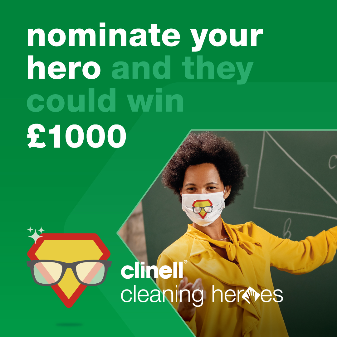 Clinell Cleaning Heroes Instagram asset