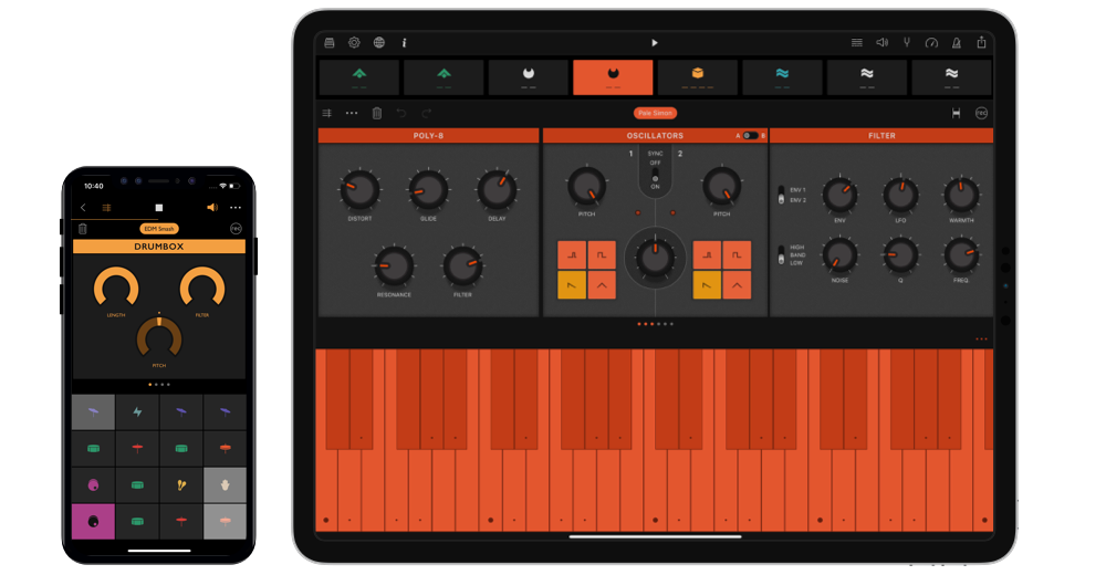 Launchpad for iOS | Make & Remix Music | Ampify Music