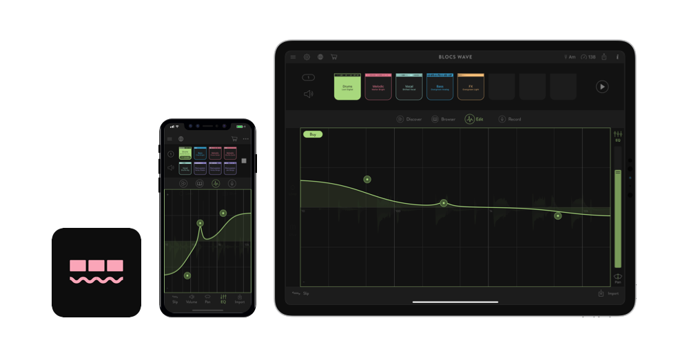 Blocs Wave for iOS | Make & Record Music | Ampify Music