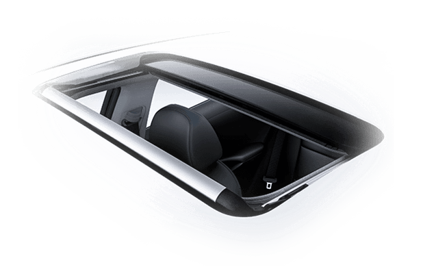 Design front power sunroof