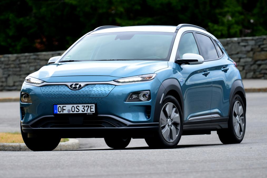 New Hyundai Kona Electric 2018 UK review