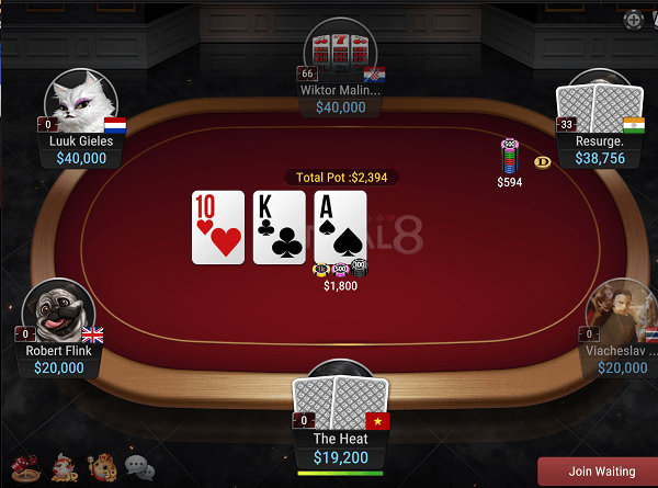 Texas holdem flop