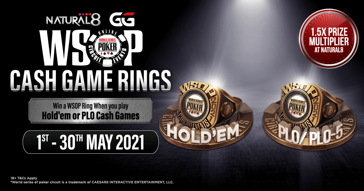 WSOP Cash Game Rings Natural8