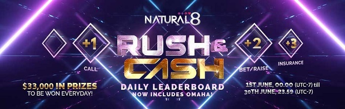 rush and cash june promo