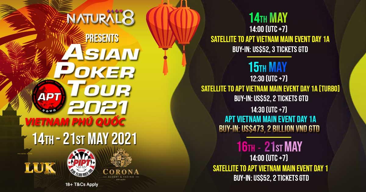 Natural8 APT Vietnam Online Schedule 1200x630