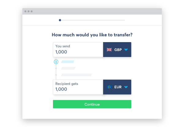 TransferWise currency calculator