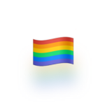 Rainbow flag emoji