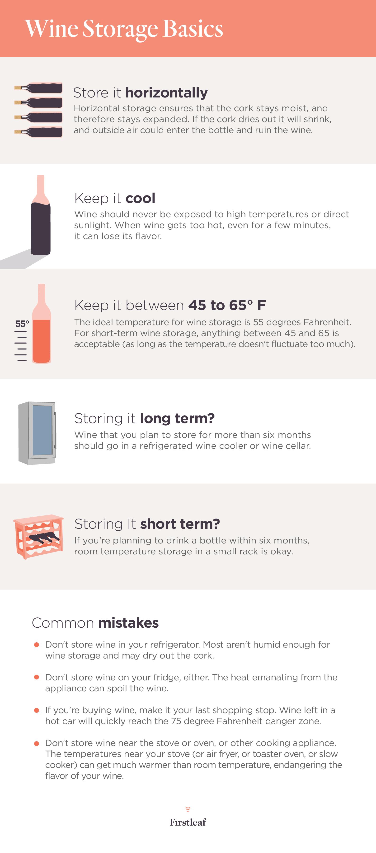 how to build wine storage