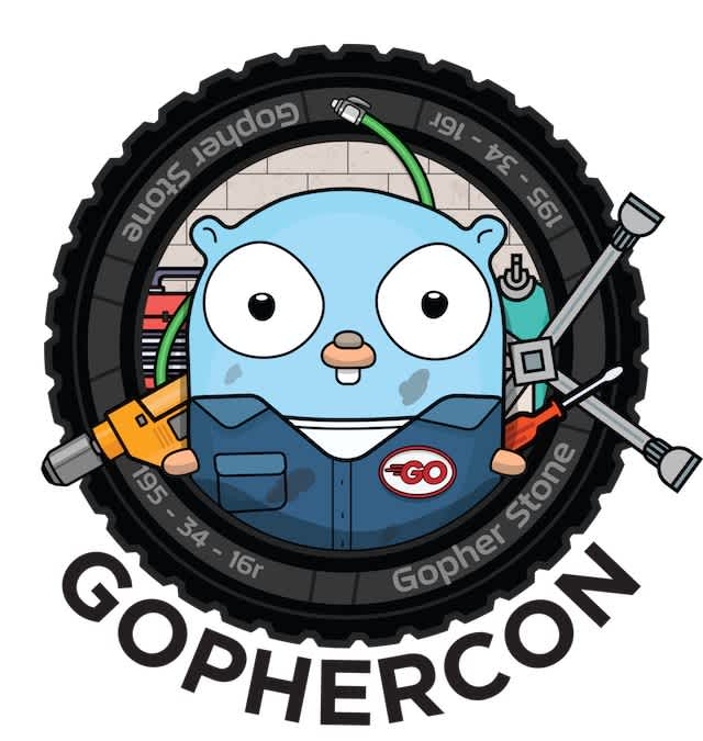 GopherCon 2018 badge