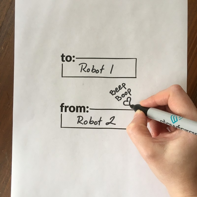 Draw on Template