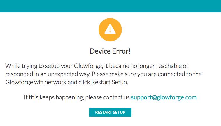 Troubleshooting - Wi-Fi | Glowforge