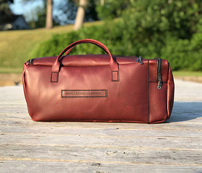 Mars Leather Duffle