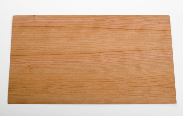 Veneer finished cherry