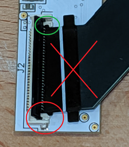 Insert the End of the Cable Straight into the Connector