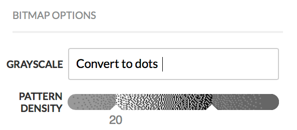 convert to dots new dither
