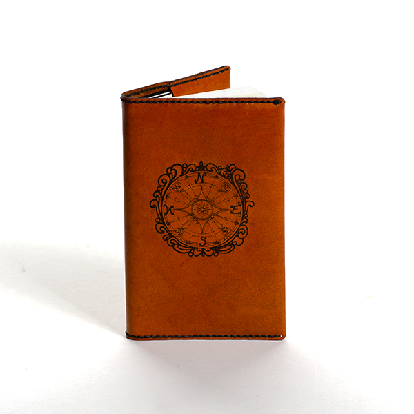 Compass Rose Notebook Cover