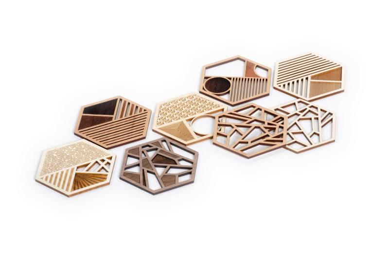 Wood materials widget