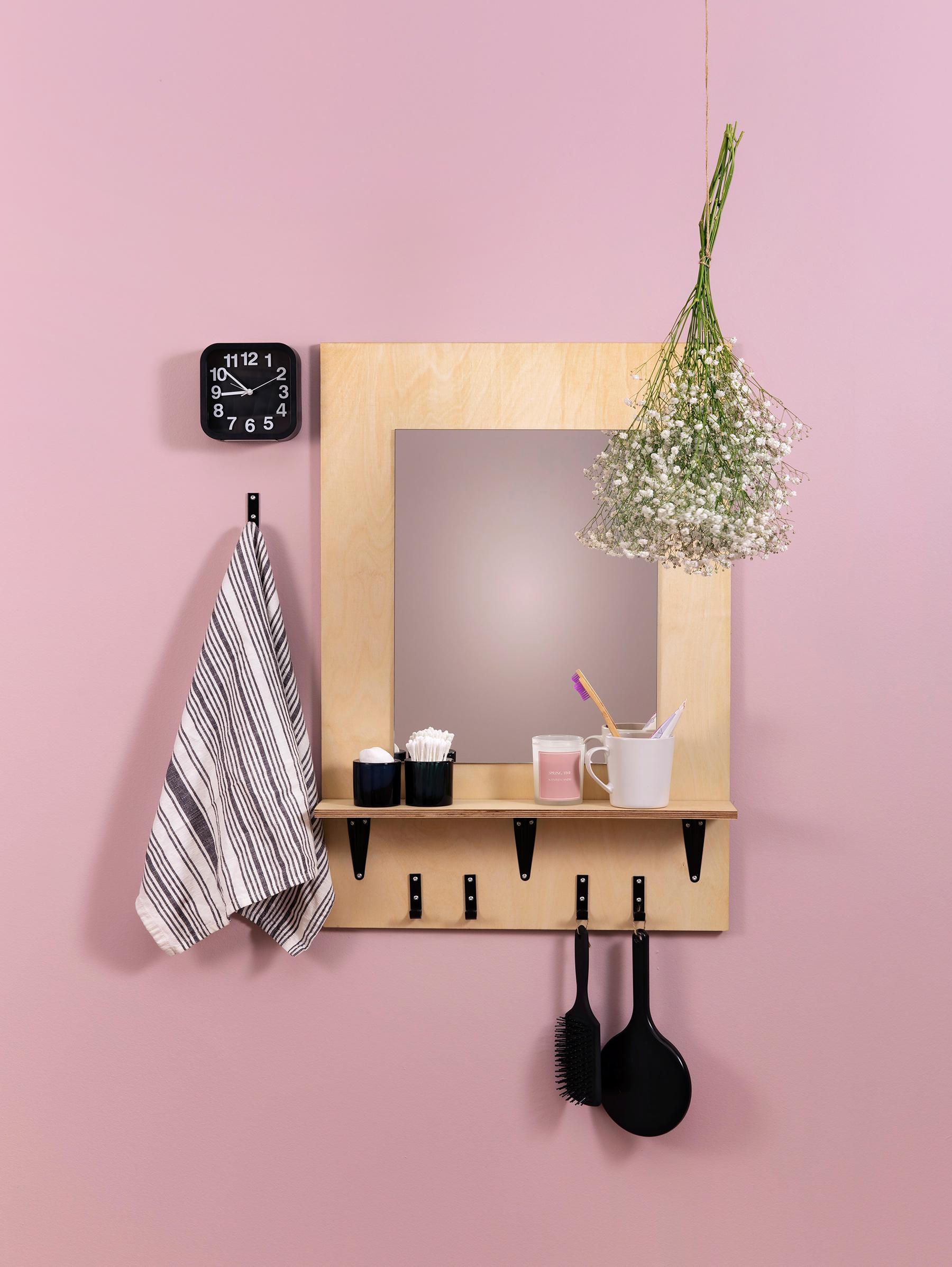 Peilit arkea helpottamaan sekä huonetta koristamaan