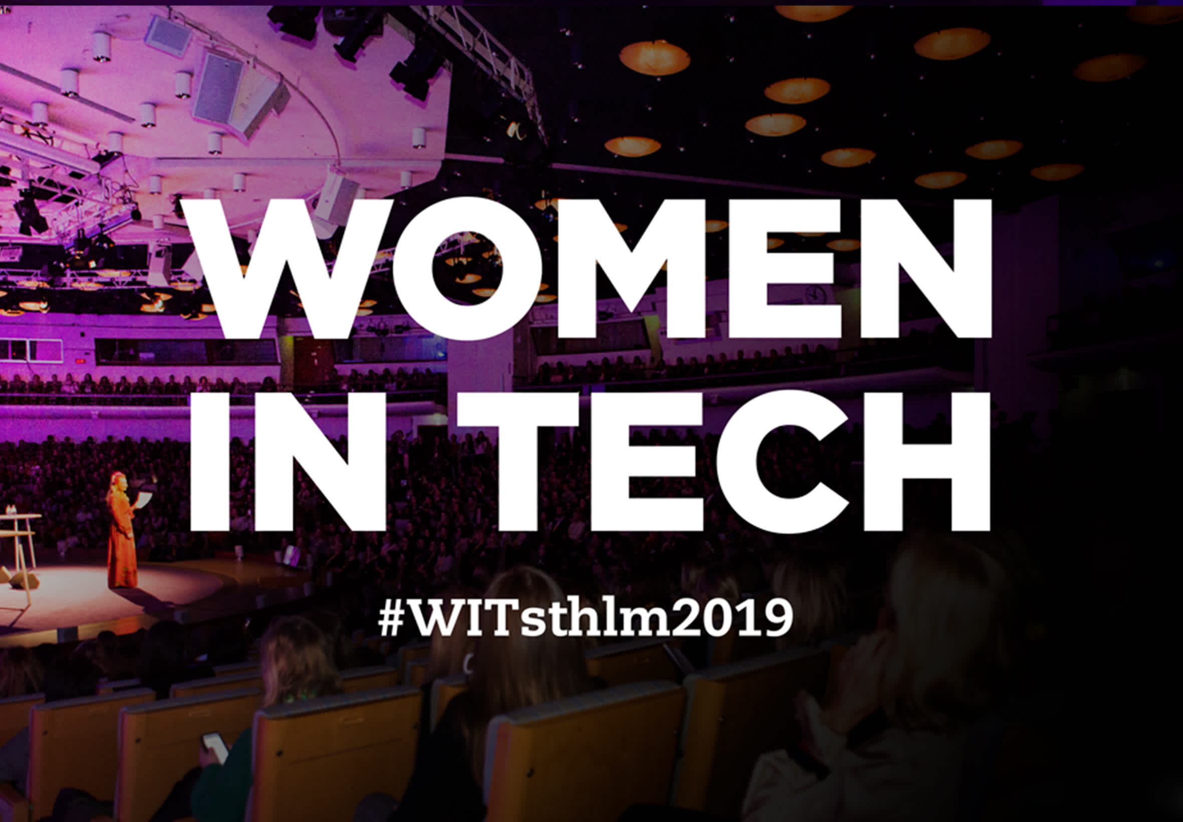 Tre favoriter från Women in Tech 2019