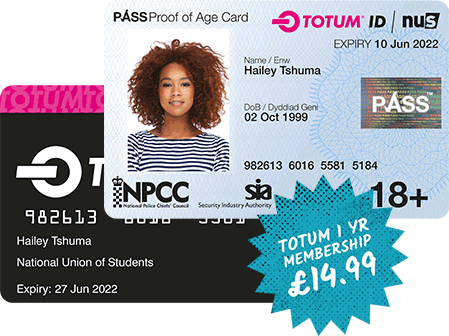 TOTUM Card with Pass ID