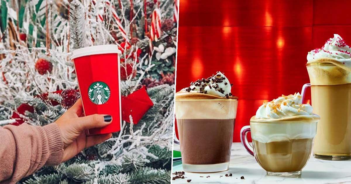 Starbucks Red Cup Christmas Menu Is Back Next Week Totum