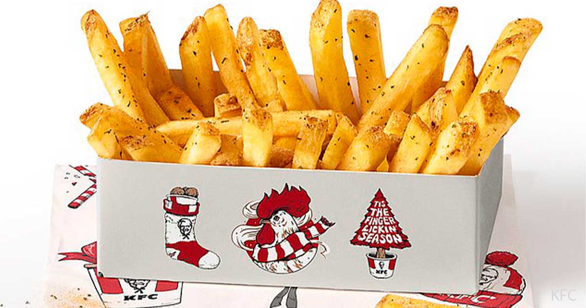 Kfc Is Now Selling A Christmas Dinner Box With Stuffing