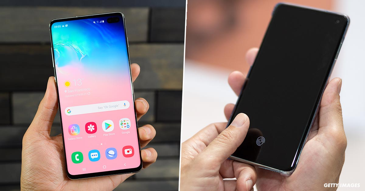 Samsung Galaxy S10 Fingerprint Recognition Flaw