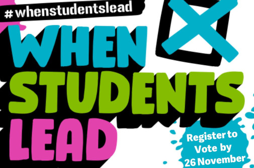 When Students Lead: Register To Vote