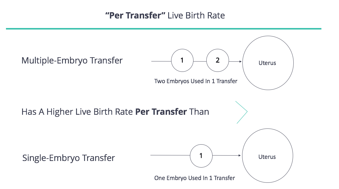 Per Transfer Live Birth Rate