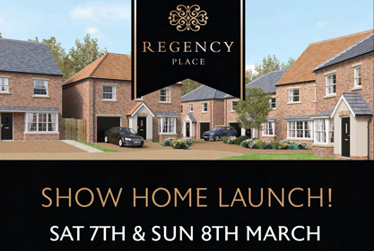 Regency Place Show Home Opening Event - 7th & 8th March