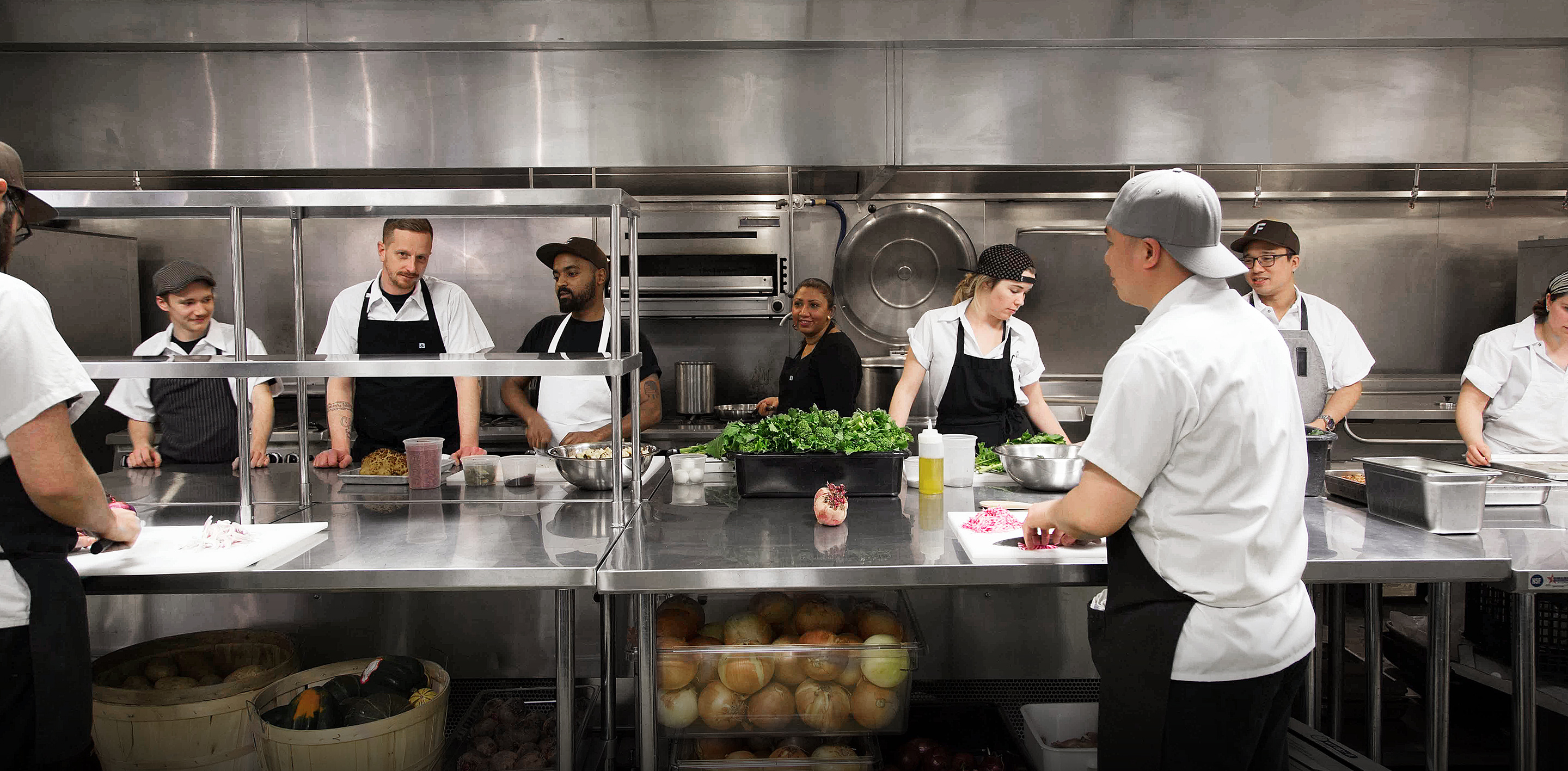 feast and not a conventional restaurant kitchen as your next step