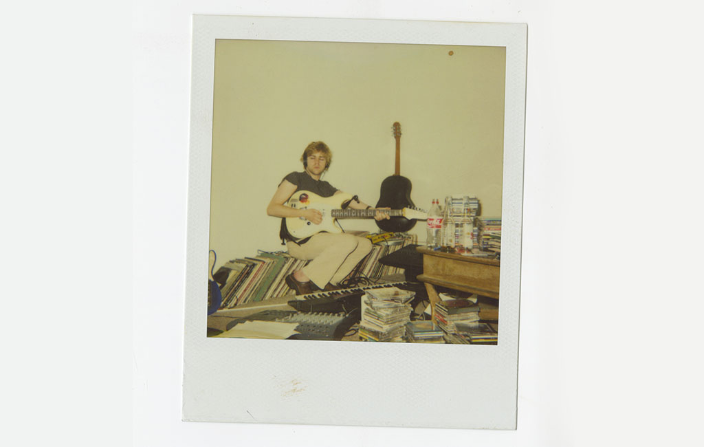 Ariel Pink Polaroid Photo Courtesy of Mexican Summer