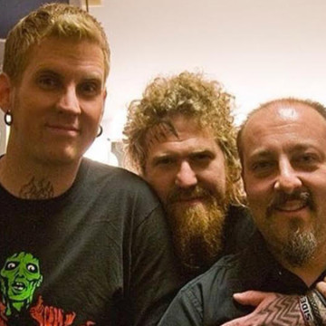 Mastodon and manager Nick John