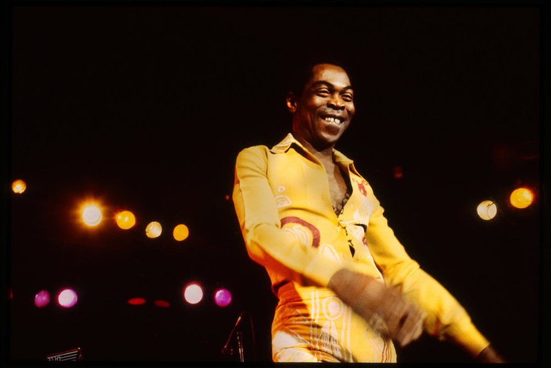Fela Kuti, Courtesy of Partisan Records