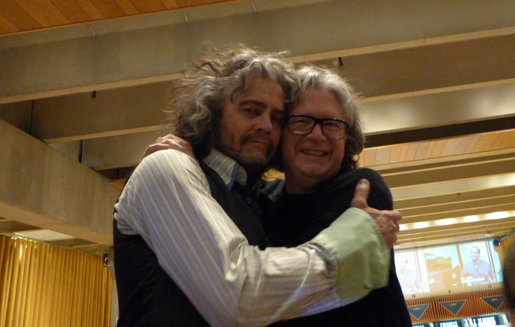 Wayne Coyne and Scott Booker