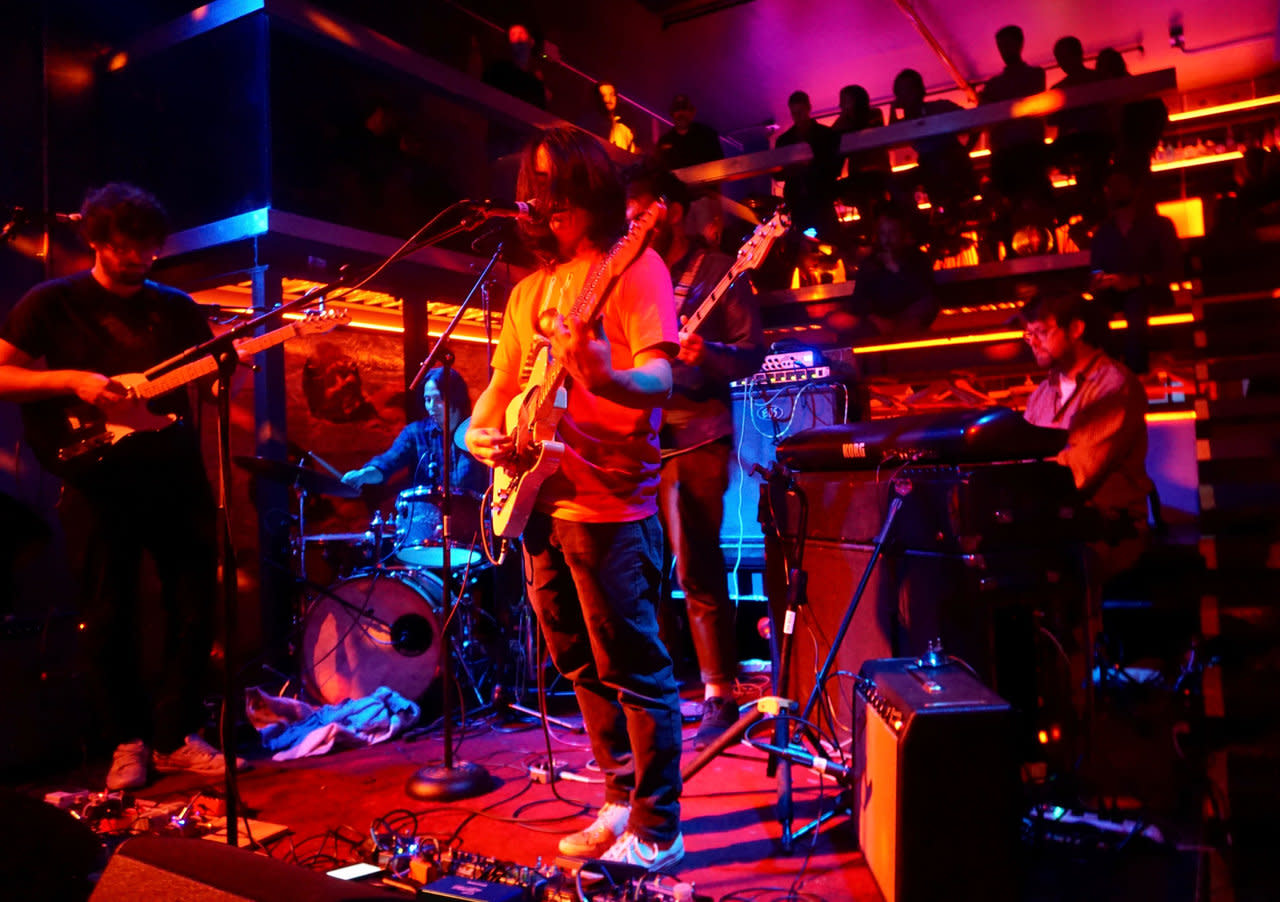 Garcia Peoples Live in Residency at Nublu 2019, Photo by Dominique Miniaci