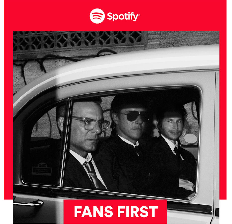 Spotify/ Interpol Fans First Event Invite