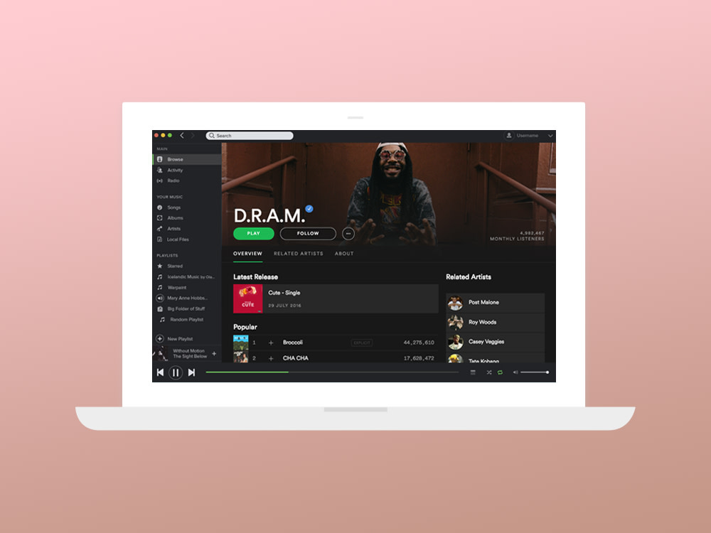 A Simpler Design for Your Artist Page – News – Spotify for