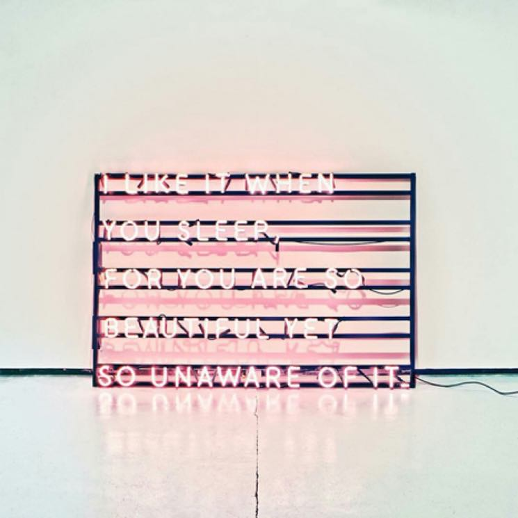 Cover Art for The 1975's I like it when you sleep, for you are so beautiful yet so unaware of it