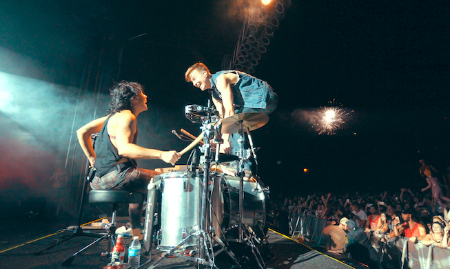 Matt and Kim Live, Photo by Colin Devon Moore